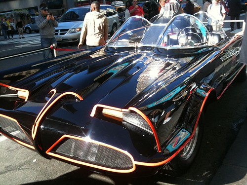 The Batmobile!? And the fanboy gets excited...