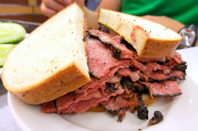 Pastrami Sandwich with extra Pastrami!