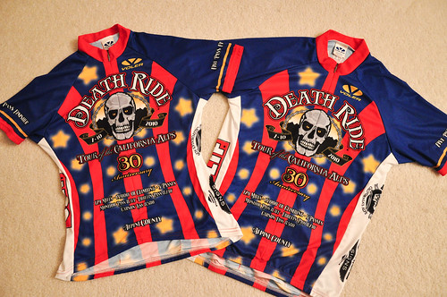 Death Ride 2010, Five Pass Finisher Jerseys