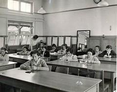 Fane School Needlework Class