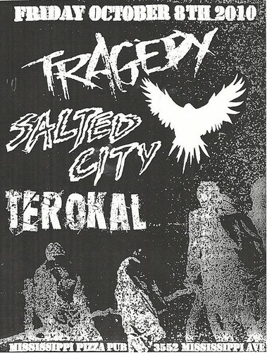 10/8/10 Tragedy, Salted City, Terokal