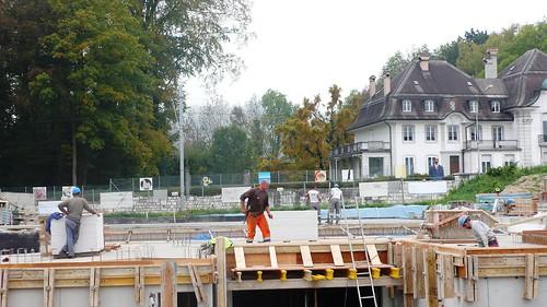 Building work, Feldbrunnen