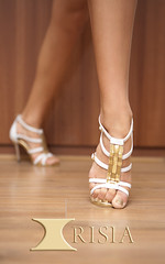 Irisia Dance Shoes (g1_park) Tags: white argentine club gold dance shoes basket dancing tango ballroom lf salsa weave strappy danceshoes stilletto coricancha clubwear