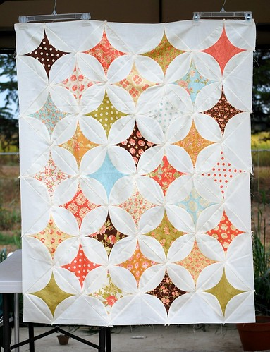 Breakfast at Tiffany's quilt top