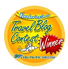 Wandering Juan Blog Contest Winner Logo