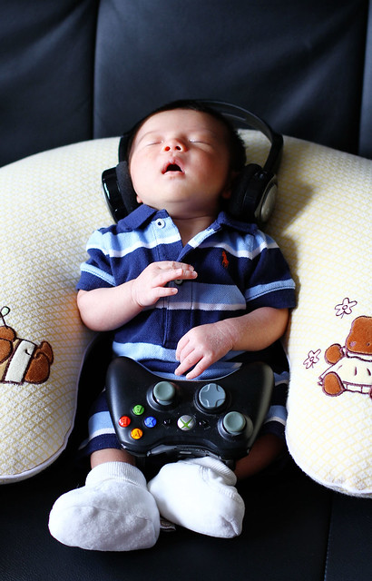 Like Father, Like Son - When Your Father is A Gamer