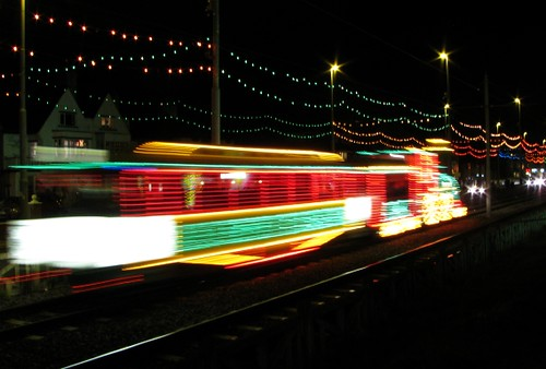 Blackpool Tram Back to the Future 3