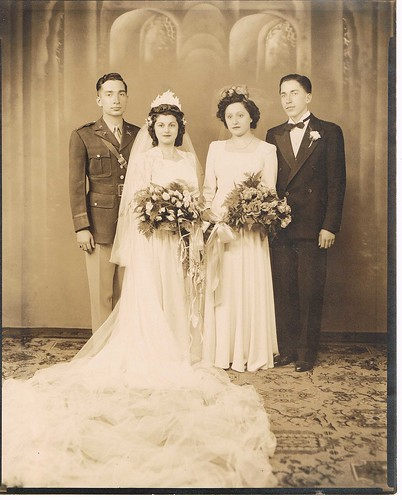 Uncle John, Aunt Rose, Unknown, Dad
