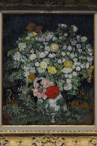 flowers in vase van gogh. flowers in vase van gogh. Bouquet of Flowers in a Vase - Vincent van Gogh
