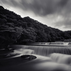 * n a t u r e ' s  c a l l * (^soulfly) Tags: longexposure river mono daylight canon5d sep hakone waterstream closetonature ef1740mm bwnd110 hayakawariver kanagawaperfecture