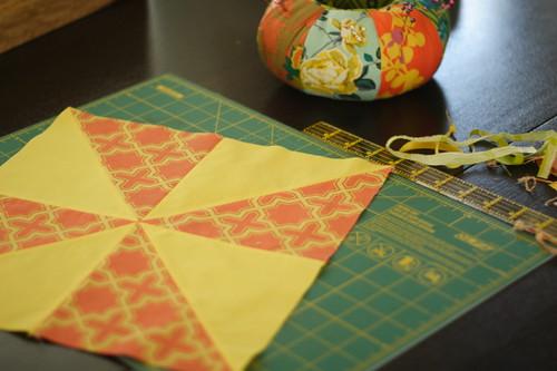Saturday morning sewing