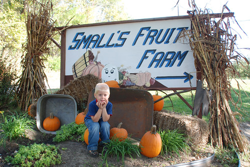 Visiting Small's Fruit Farm