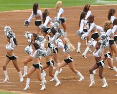 Go Team! (2HandzUp1913) Tags: hair dance uniform top makeup silverandblack entertainment shorts cheer pompoms 2handzup1913