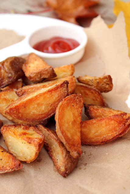 Extra-Crispy Tossed Potatoes Recipe — Dishmaps