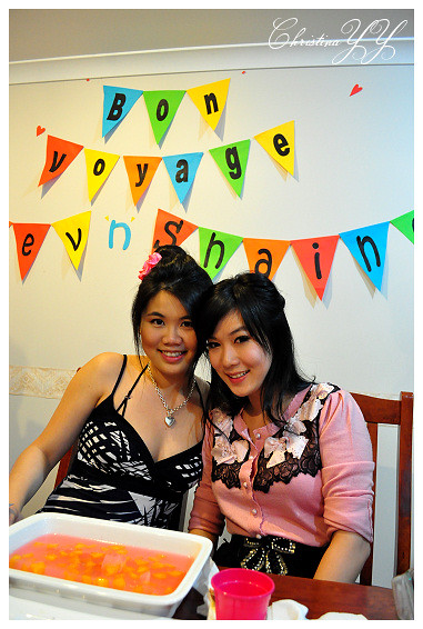 surprise Farewell Party: Me and Shaine