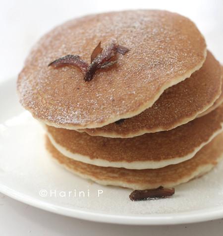 Gluten free White rice flour pancakes