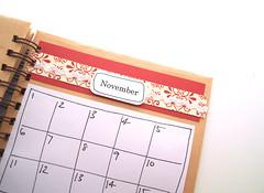 Birthday Book November