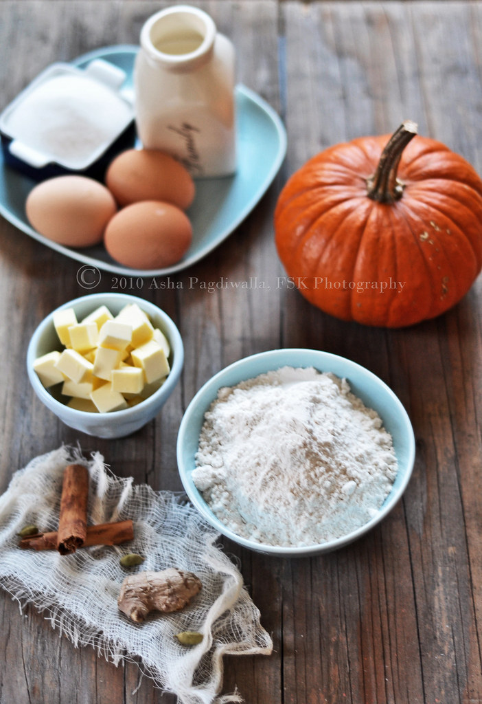 Ingredients for Pumpkin tart