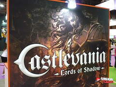 Castlevania en el stand de Konami