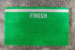 finish line mat