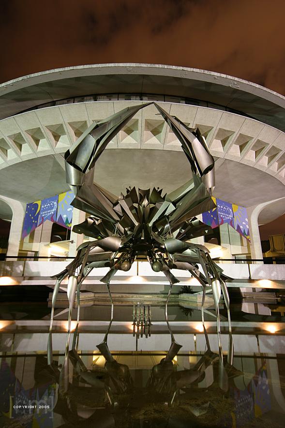 Vancouver Planetarium Crab
