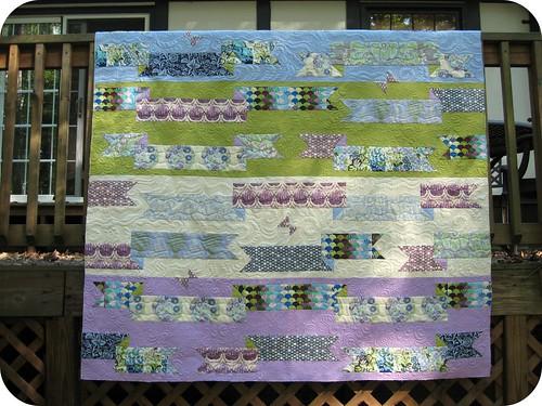 Parisville quilt ... quilted