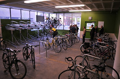 Harrison St Bike Garage at PSU