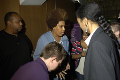 Macy Gray signs autographs at the W hotel (MassEquality) Tags: macygray concertforequality