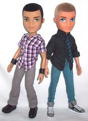 The Party Boyz (Your Boy, Max) Tags: dylan dolls boyz cameron mga bratz 2010 10thanniversary mgaentertainment