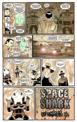 SPACE SHARK #018