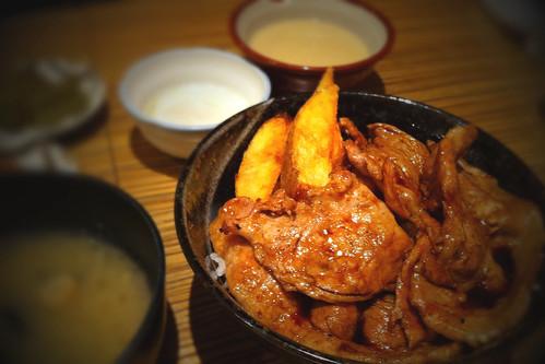 美幌食堂の'スタミナ豚丼'いつ喰っても美味い!