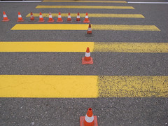 (ariel.chico) Tags: yellow swiss basel cones xing