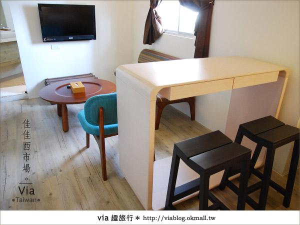 【台南住宿】佳佳西市場旅店~充滿特色的風格旅店!22