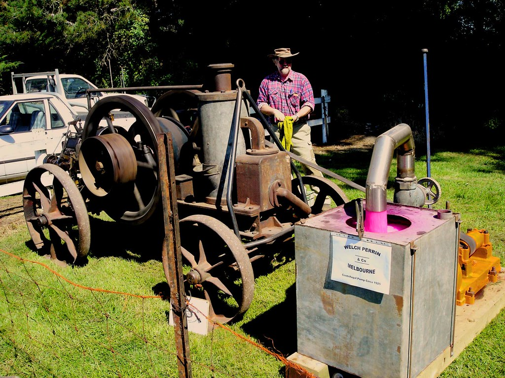 Welch Perrin Steam Engine and Pump