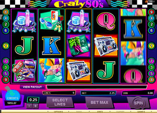 Crazy 80s slot game online review