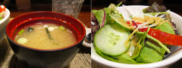 Yakitori Totto Soup and Salad