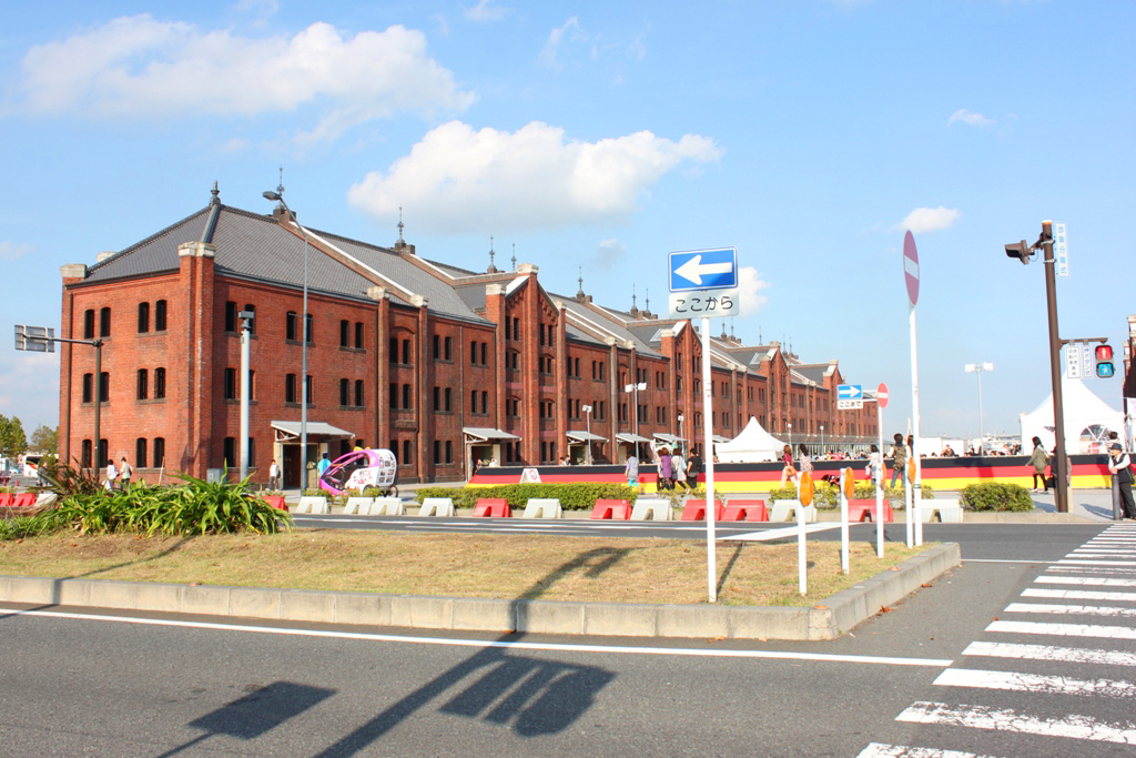 Yokohama Red Brick Warehouse October Fest 2010
