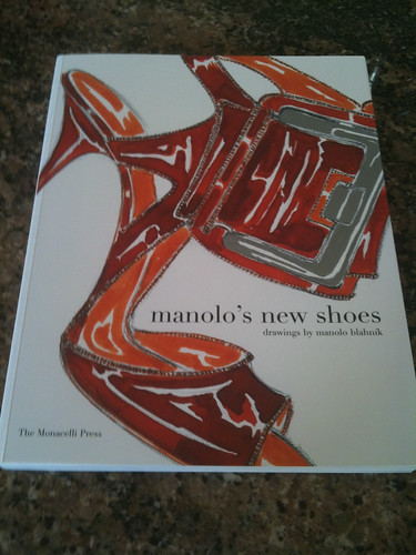 Manolo's new shoes book