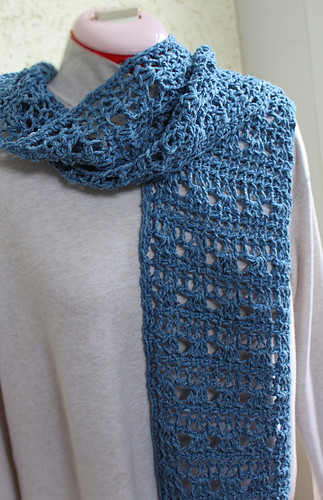 Ravelry Starlight Tunisian Scarf Pattern By Elisa Purnell