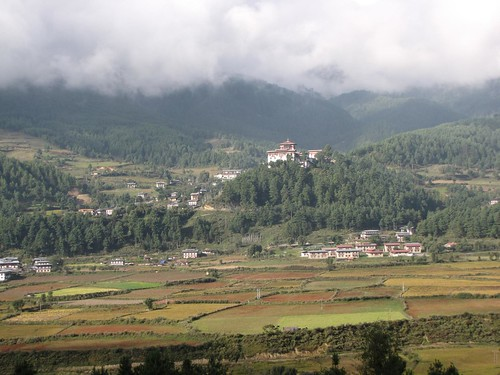 sun comes out in Bumthang