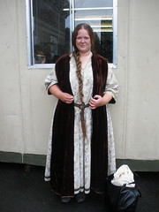 My first Camelot extra costume