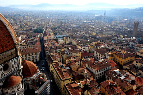 Florence: View from Campenile 弗洛伦莎市景