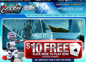 Virtual City Casino Home