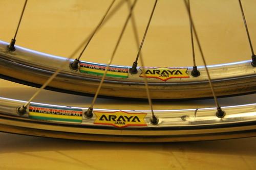 ARAYA 77 WORLD CHAMPION Rim NJS