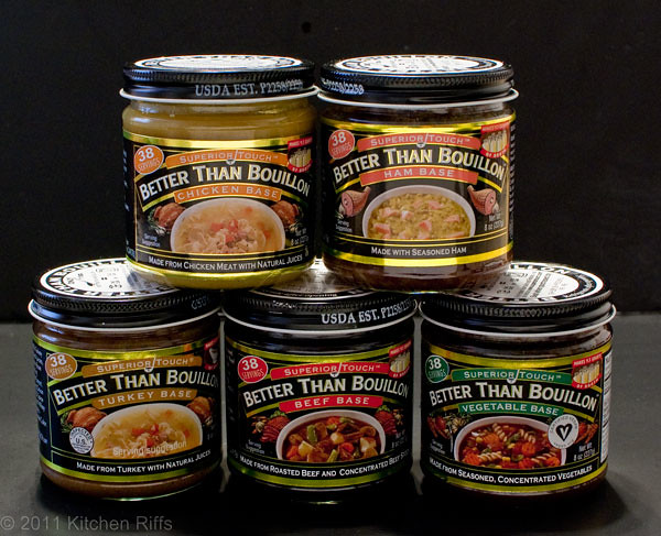 assortment of Better than Bouillon soup bases