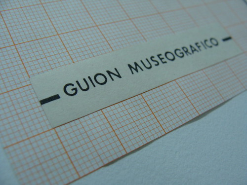 GUION MUSEOGRAFICO (DETALLE)