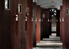 karmatic lockup (Desolate Places) Tags: abandoned rooms doors center patient locks isolation wards psyciatric