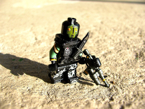 Custom minifig ~Resistant on the move~