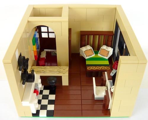 Custom minifig studio flat a la lego