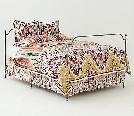 Dynamic Ikat Bedding Set
